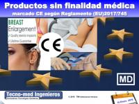 1801 PRODUCTOS SIN FINALIDAD MÉDICA – MARCADO CE SEGÚN REGLAMENTO (UE) 2017/745 - 18 Enero 2018 - Fecha: 18 de Enero de 2018, de 10h a 18h - Barcelona El curso es de 1 jornada la parte presencial e incluye 25 horas (3 meses) adicionales en la web de formación http://formacion.tecnologias-sanitarias.com/course/view.php?id=84  (Precio incluye desayuno, comida, documentación y certificado).