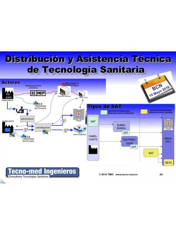 1603 - DISTRIBUCIÓN Y ASISTENCIA TECNICA DE TECNOLOGÍA SANITARIA - IMPACTO ISO 13485:2016 - Fecha: 18 de mayo de 2016, de 10h a 18h (Precio incluye desayuno, comida, documentación y certificado).  Lugar de celebración: Barcelona, Barelona Advanced Industry Park. C/Marie Curie n.8 08042 Barcelona  [M] L4 Lluchmajor tel. 932917739.   El curso es de 1 jornada la parte presencial e incluye 25 horas adicionales en la web de formación: http://formacion.tecnologias-sanitarias.com/course/view.php?id=34