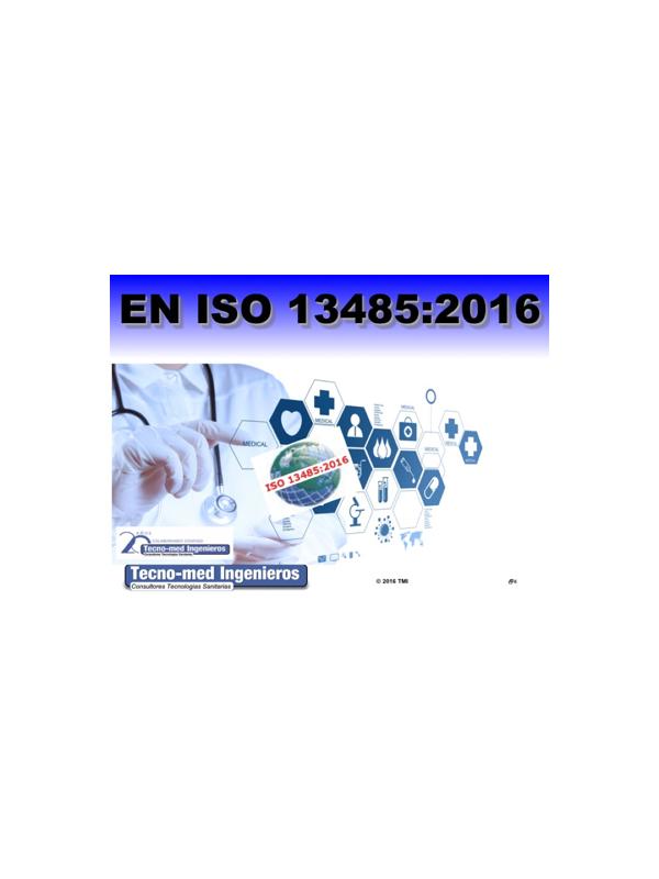 1605M - CAMBIOS ISO13485:2016 (Online 10h) - El curso es de 10 horas a realizar en nuestra web de formación: http://formacion.tecnologias-sanitarias.com/course/view.php?id=31   Puede realizar la inscripción online en el propio portal con tarjeta via PayPal: http://formacion.tecnologias-sanitarias.com/enrol/index.php?id=31. Deberá darse de alta con sus datos en esta página y podrá acceder al curso de modo automático al finalizar el pago. o bien aqui donde puede escoger distintos modos de pago y le daremos de alta y matricularemos nosotros en el curso a la mayor brevedad. En ambos casos le remitiremos con posterioridad la factura correspondiente. En caso de duda contacte con nosotros info@tecno-med.es Incluye:  Documentos formativos con video-presentaciones con audio explicativo, foros de participación y consulta, documentación complementaria de referencia, cuestionarios y certificado de aprovechamiento de expedición automática una vez superado el curso.
