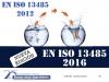 1707 - EN ISO 13485 – CALIDAD PRODUCTOS SANITARIOS -BCN  - Fecha: 1 de Junio 2017, de 10h a 18h (Precio incluye desayuno, comida, documentación y certificado). Lugar de celebración:  Parque Tecnológico Barcelona  – C/Marie Curie nº 8 - Barcelona Metro.  L4 (amarilla) Parada Llucmajor - Tel. 93 291 77 39.  El curso es de 1 jornada la parte presencial e incluye 25 horas adicionales en la web de formación http://formacion.tecnologias-sanitarias.com/course/view.php?id=56  Este curso estará disponible en formato online con posterioridad a la jornada de formación presencial.