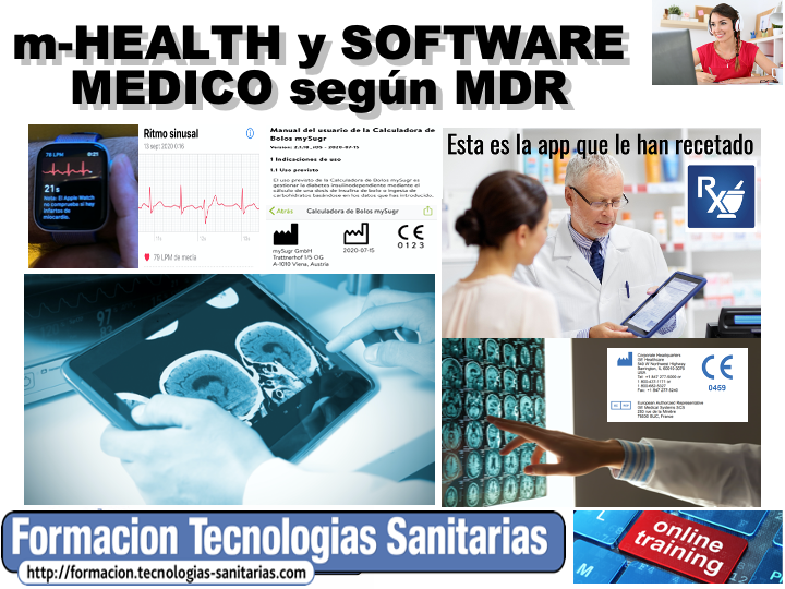 2005T - M-HEALTH Y SOFTWARE MEDICO SEGUN MDR - ONLINE